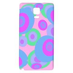 Pink pattern Galaxy Note 4 Back Case