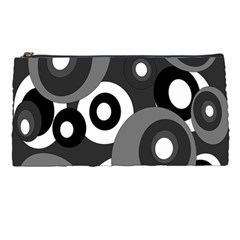 Gray pattern Pencil Cases