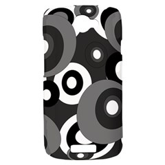 Gray pattern HTC One S Hardshell Case