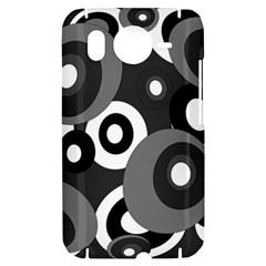 Gray pattern HTC Desire HD Hardshell Case