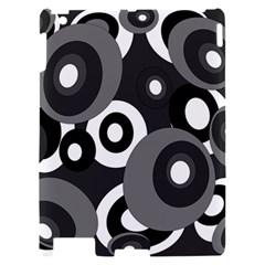 Gray pattern Apple iPad 2 Hardshell Case