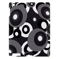 Gray pattern Apple iPad 3/4 Hardshell Case