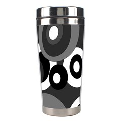 Gray pattern Stainless Steel Travel Tumblers