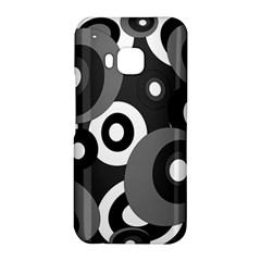 Gray pattern HTC One M9 Hardshell Case