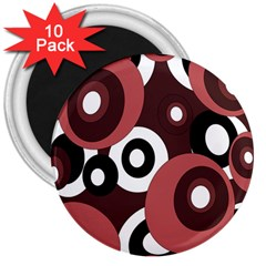 Decorative pattern 3  Magnets (10 pack)