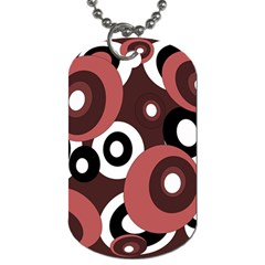 Decorative pattern Dog Tag (One Side)