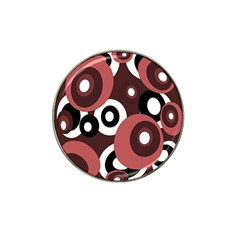 Decorative pattern Hat Clip Ball Marker (10 pack)