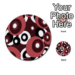 Decorative pattern Multi-purpose Cards (Round)