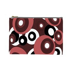 Decorative pattern Cosmetic Bag (Large)