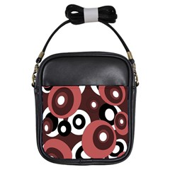 Decorative pattern Girls Sling Bags