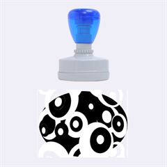 Decorative pattern Rubber Oval Stamps