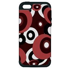 Decorative pattern Apple iPhone 5 Hardshell Case (PC+Silicone)