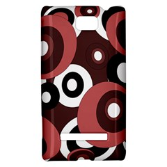 Decorative pattern HTC 8S Hardshell Case