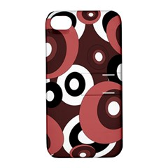 Decorative pattern Apple iPhone 4/4S Hardshell Case with Stand