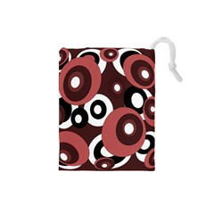 Decorative pattern Drawstring Pouches (Small)