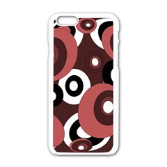 Decorative pattern Apple iPhone 6/6S White Enamel Case