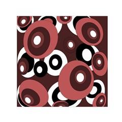 Decorative pattern Small Satin Scarf (Square)