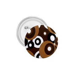 Brown pattern 1.75  Buttons