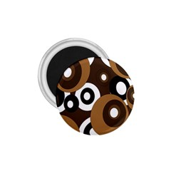 Brown pattern 1.75  Magnets