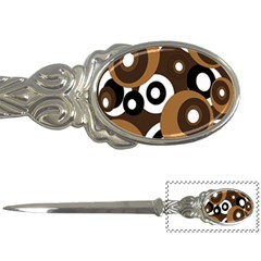 Brown pattern Letter Openers