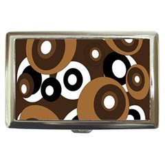 Brown pattern Cigarette Money Cases
