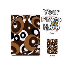 Brown pattern Playing Cards 54 (Mini)