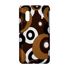 Brown pattern HTC Evo Design 4G/ Hero S Hardshell Case