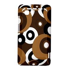 Brown pattern HTC Vivid / Raider 4G Hardshell Case