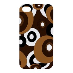 Brown pattern Apple iPhone 4/4S Premium Hardshell Case