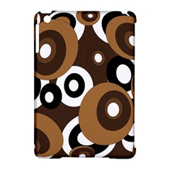Brown pattern Apple iPad Mini Hardshell Case (Compatible with Smart Cover)