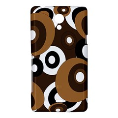 Brown pattern Sony Xperia T