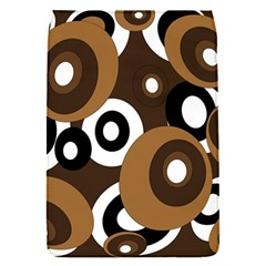 Brown pattern Flap Covers (S)