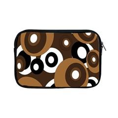Brown Pattern Apple Ipad Mini Zipper Cases