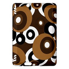 Brown pattern Kindle Fire HDX Hardshell Case