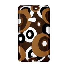 Brown pattern Nokia Lumia 625