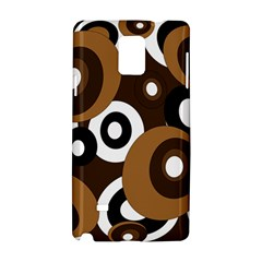 Brown pattern Samsung Galaxy Note 4 Hardshell Case