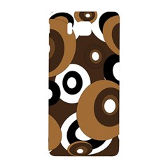 Brown pattern Samsung Galaxy Alpha Hardshell Back Case