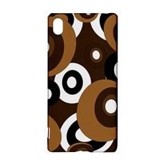 Brown pattern Sony Xperia Z3+