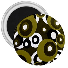 Green pattern 3  Magnets