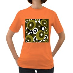 Green pattern Women s Dark T-Shirt