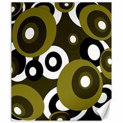 Green pattern Canvas 20  x 24
