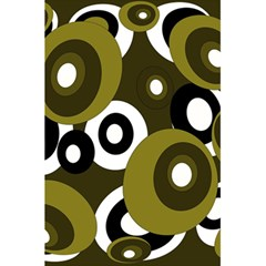 Green pattern 5.5  x 8.5  Notebooks