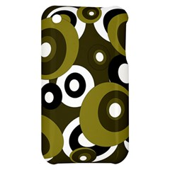 Green pattern Apple iPhone 3G/3GS Hardshell Case