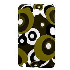 Green pattern Samsung Galaxy Note 1 Hardshell Case