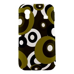 Green pattern Samsung Galaxy Ace S5830 Hardshell Case