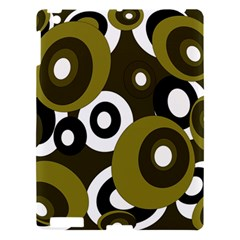 Green pattern Apple iPad 3/4 Hardshell Case