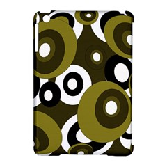 Green pattern Apple iPad Mini Hardshell Case (Compatible with Smart Cover)