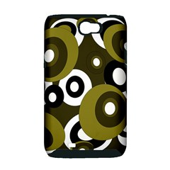 Green pattern Samsung Galaxy Note 2 Hardshell Case (PC+Silicone)