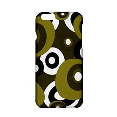 Green pattern Apple iPhone 6/6S Hardshell Case