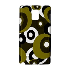 Green pattern Samsung Galaxy Note 4 Hardshell Case